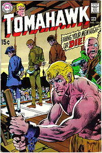 "TOMAHAWK #126 VF/NM 9.0 Adams Thorne ""Baron Of Gallow's Hill"" 1970"