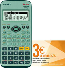 Calculatrice Scientifique Spéciale Collège Casio FX-92+
