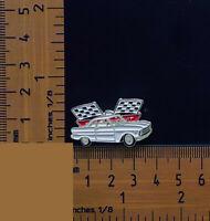XP Ford Falcon, Futura White Super Pursuit Metal Lapel Pin, Badge
