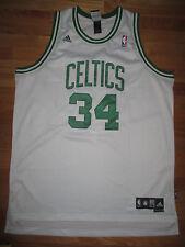 Adidas PAUL PIERCE No. 34 BOSTON CELTICS (Size 2XL) Jersey WHITE