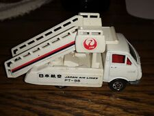 Vintage TOMICA Toyota HIACE Japan Airlines made in JAPAN