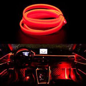 LED Red 5M Interior Cold light Atmosphere Lamp Wire Strip Decoration 12V HALS