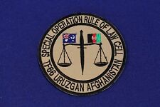 Australian .....Special Operations Rule Of Law Cell ...TF66 Patch