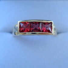 1.30ct Certified Natural Tanzanian Ruby Gold Ring