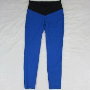 New Balance x Staud Two Toned Leggings Women's Medium Blue Pants