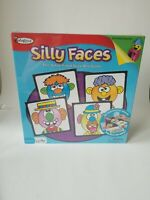 Colorforms SILLY FACES Game 2010 NEW & Sealed by University Games