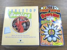Tabletop Bowling 2005 Jon Richards & Finger Sports Table Top Bowling Game