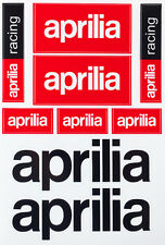 Aprilia Motorcycle Scooter Decals Stickers Vinyl Graphic Set Aufkleber Adesivi