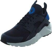 NIKE Air Huarache Run Ultra Men Blue Mesh with Rubber Sole Running Shoes US 12 M
