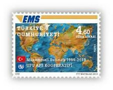 TURKEY 2019, UPU EMS COOPERATIVE, MNH