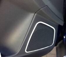 D Ford Focus MK3 Chrom Rahmen für Türlautsprecher vorne G  Edelstahl  Focus MK 3