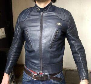 Vintage 70's Lewis Leathers Aviakit Phantom Motorcycle Jacket 38 Excellent