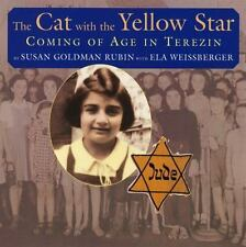 The Cat With The Yellow Star Susan Goldman Rubin WWII Paperback Terezin Holocaus