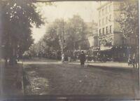 Paris Military France 5 small photo Scapshot Vintage 1919