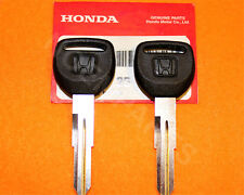 2 x NEW GENUINE Honda Master Black Key Blank 35117-SM4-901