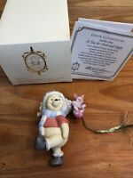 Lenox Disney 2005 A TREE FOR PIGLET AND POOH Christmas Ornament NIB With Papers