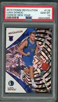 Luka Doncic 2018 Panini Revolution Chinese New Year Rookie Card RC #128 PSA 10