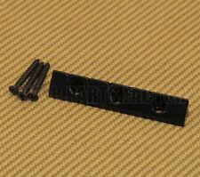 GB-LAP-B Black Lap Steel Universal Low Profile Flat Mount Guitar Gretsch Bridge