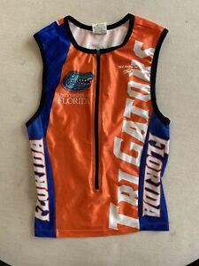 University Of Florida Gators Mens Triathlon Racing Top