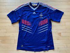 France National Team Jersey 2009/2011 Home Adidas Soccer Football Mens Sz XL #10