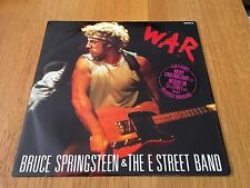 """BRUCE SPRINGSTEEN - WAR - 1986 12"""" SINGLE EX/EX - NEW RECORDS ADDED EVERYDAY!!"""