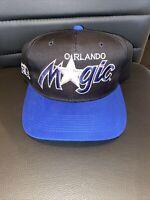 vintage Orlando Magics twill script snapback by sports specialties