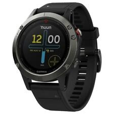 New Garmin Fenix 5 Multisport GPS Watch Fitness Black
