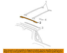 Chevrolet GM OEM Roof Rack Luggage Carrier-Side Rail Right 15224023