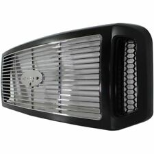 2005-2007 Ford F250 F350 SD Harley Davidson Style Black / Chrome Billet Grille