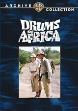 DRUMS OF AFRICA  (1963 Frankie Avalon) Region Free DVD - Sealed