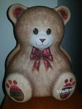 Walkers Shortbread Biscuit Cookie Teddy Bear Tin