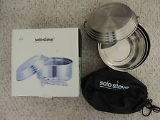 Solo Stove 3 Pot Set - Stainless Steel Camping & Backpacking Cookware