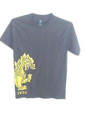 Singha Beer Dragon Hanes T-Shirt Short Sleeve Black w/Gold/Yellow Size S  NWOT