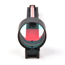 Red Fiber Red Dot Optics Scope Holographic Sight fit Shotgun Rib Rail for Rifle