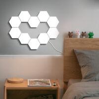 LED Quantum Lamp Touch Sensor Hexagonal Magnetic Modular Night Light Home Decor