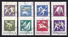 Yugoslavia - 1960 Olympic games Rome - Mi. 909-16 VFU