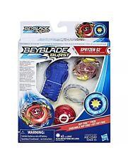Hasbro Beyblade Burst Rip Fire Starter Pack Set Spryzen S2 Lights Up Spriggan