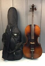 """KAY MODEL 60 45"""" 3/4 SIZE CELLO WITH GIG BAG AND GLASSER BOW 2655"""