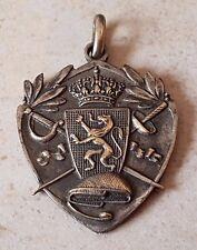 Médaille décoration honneur sport escrime CORPS CAVALERIE 1937 Medal Medaglia