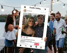Instagram Selfie Frame  Facebook Props, Hens Night, 600x900mm Custom Made.
