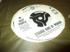 "DEEP PURPLE ""STRANGE KIND OF WOMAN"" 7"" USA PROMO"