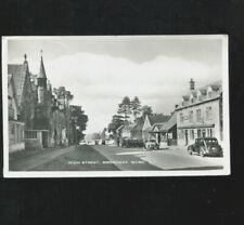 High Street Broadway RP Postcard