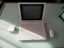 Apple iBook G4 A1134 OS X 10.5.8 neu installiert mit Mouse und Zubehör!