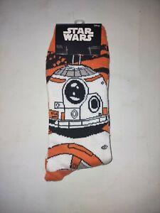 Star Wars Disney BB-8 Loot Crate Socks BB8 Size 6-12