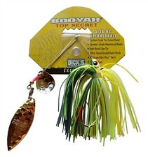 Booyah Hot Secret Hot Wire 5/16 oz Tandem Blade Spinnerbait - Foxy Lady