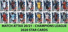 Match Attax 20/21 - Champions League 2020 Star Cards