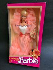 Peaches 'n Cream Barbie Doll 1984 Classic N and ~ Clear Box G Box