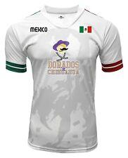 Jersey Mexico Dorados de Chihuahua 100% Polyester White/Grey_Made in Mexico