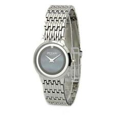 Quartz (Battery) Silver Case Round Wristwatches
