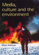 Media, Culture And The Environment-ExLibrary